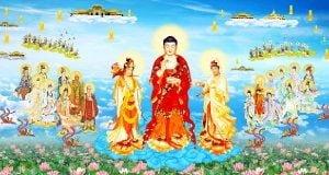 Niệm Phật A Di Đà ngày đêm 6 thời được chư Phật hộ trì