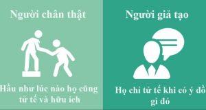 8 dấu hiệu của một người giả vờ tử tế