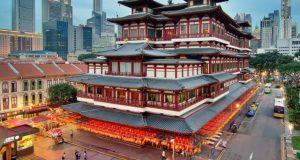 Ngôi chùa 75 triệu USD mang kiến trúc thời Đường trên đất Singapore