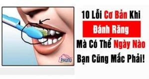 10 Lỗi Khi Đánh Răng Cần Phải Tránh
