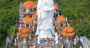 Ghé thăm chùa có tượng Phật tổ A Di Đà cao nhất VN
