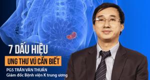 Cảnh báo của Giám đốc BV K trung ương: Khi có dấu hiệu sau, 80% là đã mắc ung thư vú