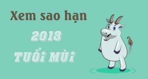 Xem sao hạn năm 2018 cho tuổi Mùi: Ất Mùi, Đinh Mùi, Kỷ Mùi, Tân Mùi, Quý Mùi