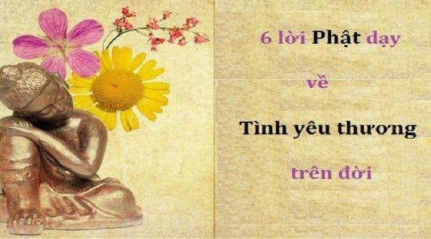 6 điều Phật dạy về tình yêu thương trên đời mà bạn cần khắc cốt ghi tâm